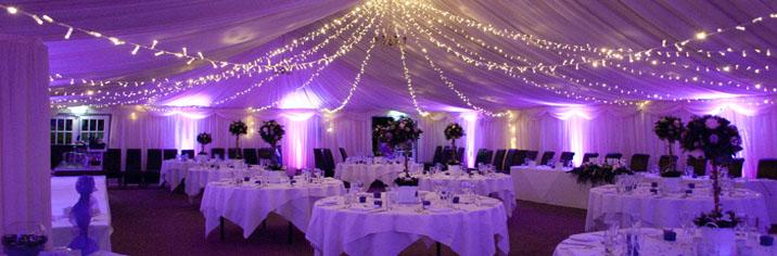 Wedding Reception Lighting Hire London